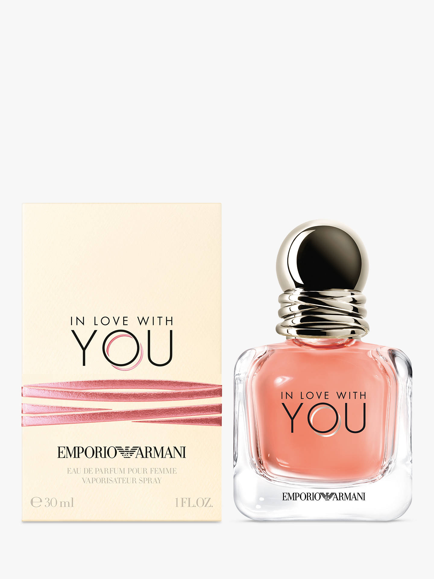 Emporio Armani In Love With You Eau De Parfum At John Lewis Partners