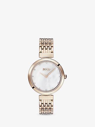 a3c14edb476 HUGO BOSS 1502480 Women s Celebration Swarovski Crystal Bracelet Strap Watch