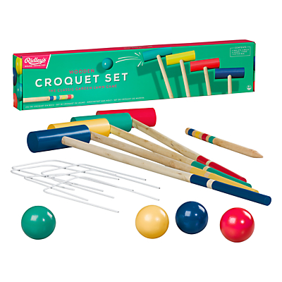 Ridleys Traditional Croquet Game