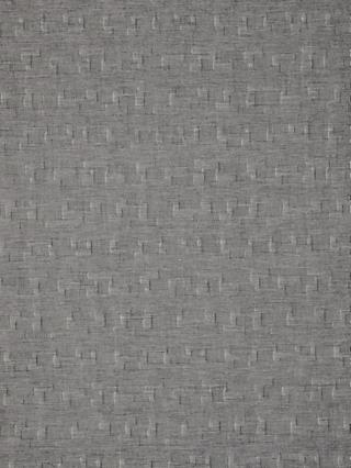 Kokka Textured Cross Hatch Print Fabric, Grey