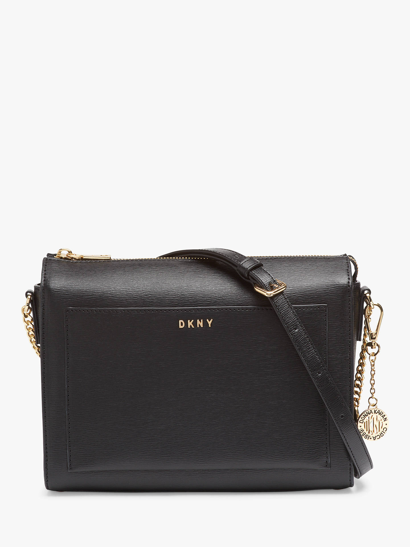 Bag At Sutton Body Cross Medium Bryant John Zip Dkny Leather Top RwqHw86n