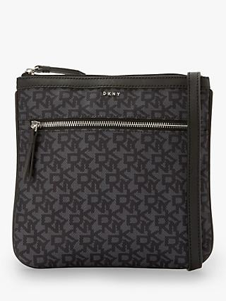 DKNY Casey Signature Cross Body Bag
