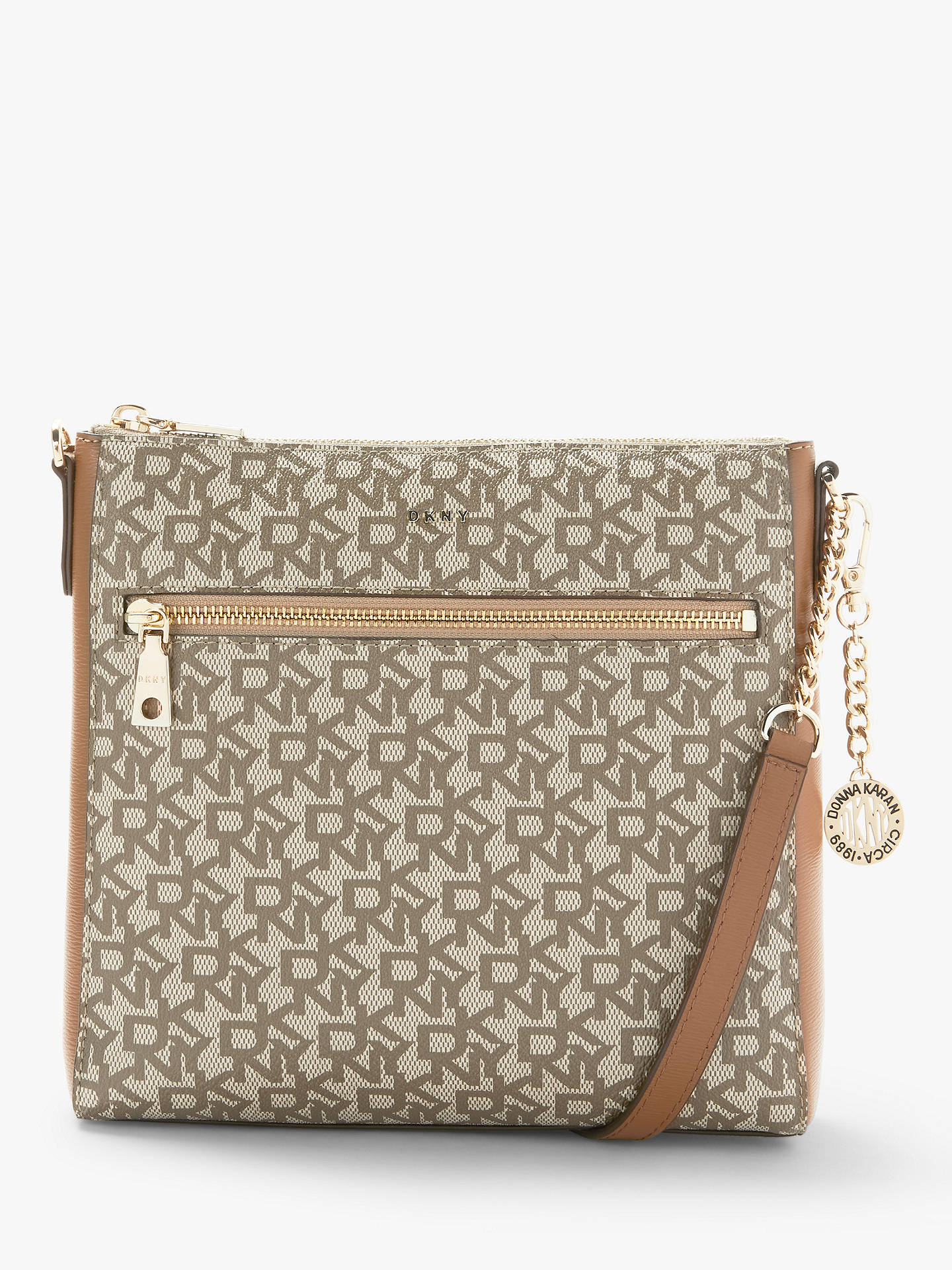 1505ceaef3c Buy DKNY Bryant Logo Print Zip Top Cross Body Bag