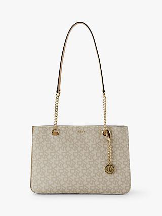 cd274668bf03 DKNY Bryant Park Logo Print Shoulder Bag