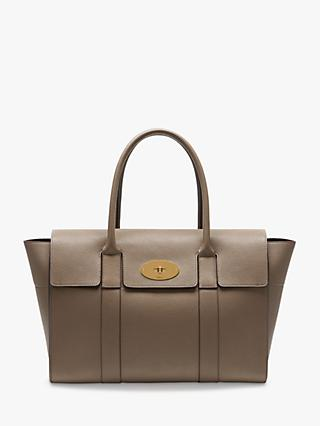 Mulberry Bayswater New Small Classic Grain Leather Handbag