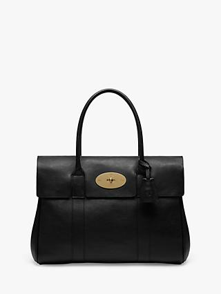 Mulberry Bayswater Heritage Natural Veg Tanned Leather Handbag