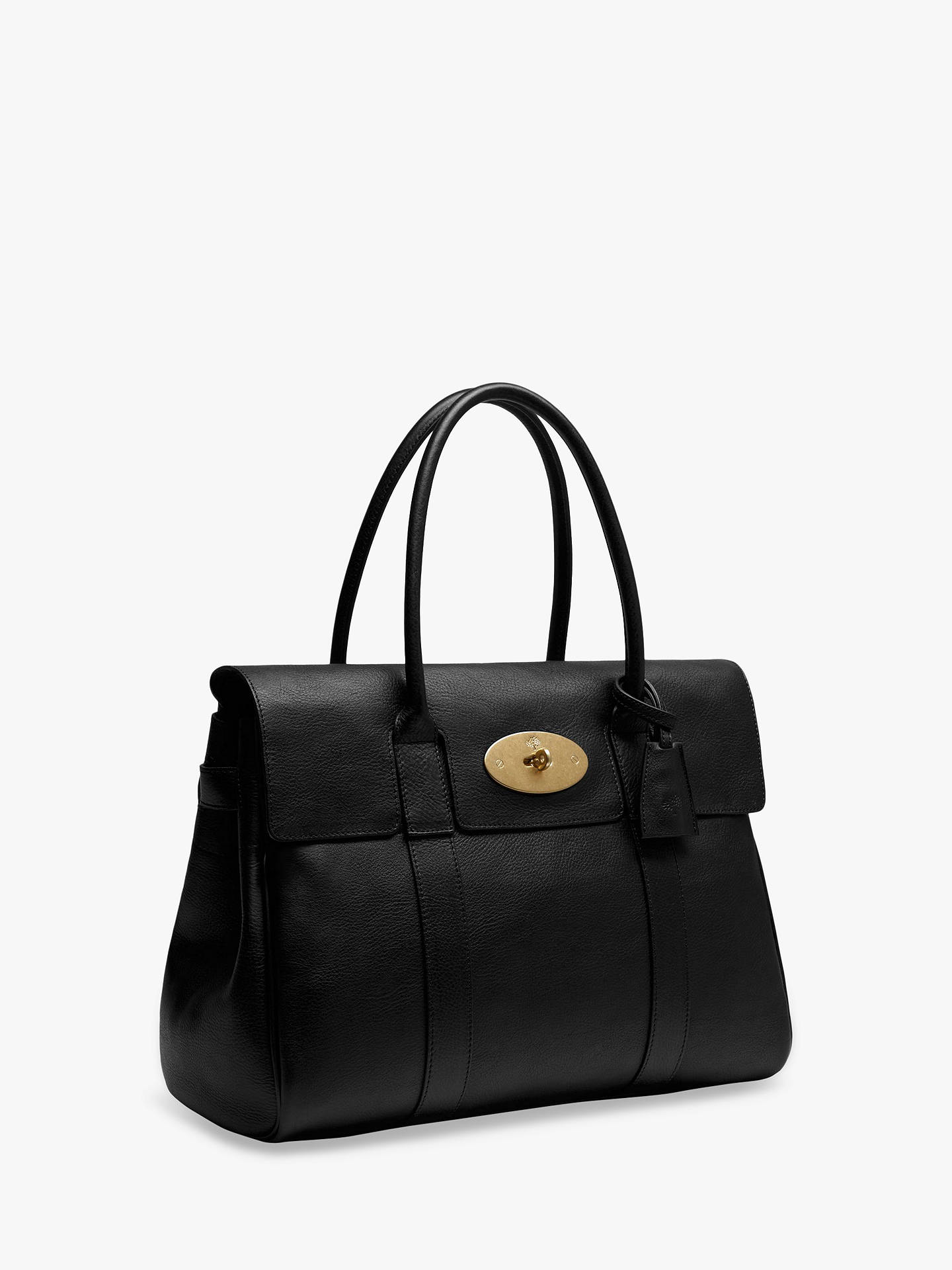 8ade7d68ed7f Mulberry Bayswater Heritage Natural Veg Tanned Leather Handbag at ...