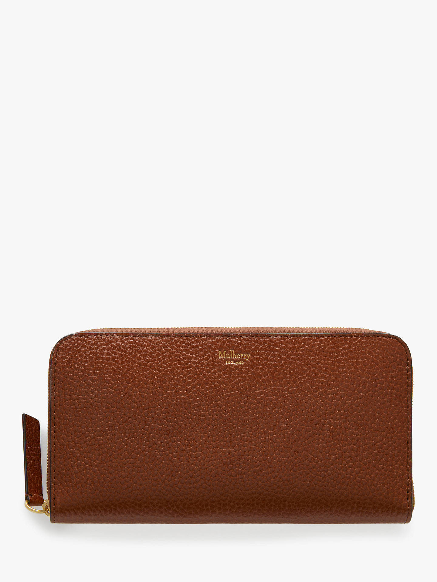 e12453b454 Buy Mulberry Small Classic Grain Leather 12 Card Zip Around Wallet