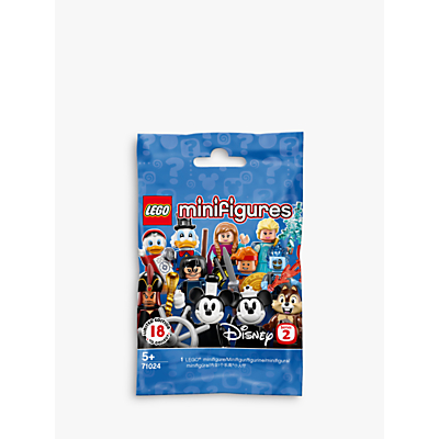 LEGO Disney 71024 Minifigures Series 2 Limited Edition, Assorted