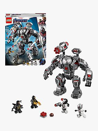 LEGO Marvel Avengers 76124 War Machine Buster Action Figure