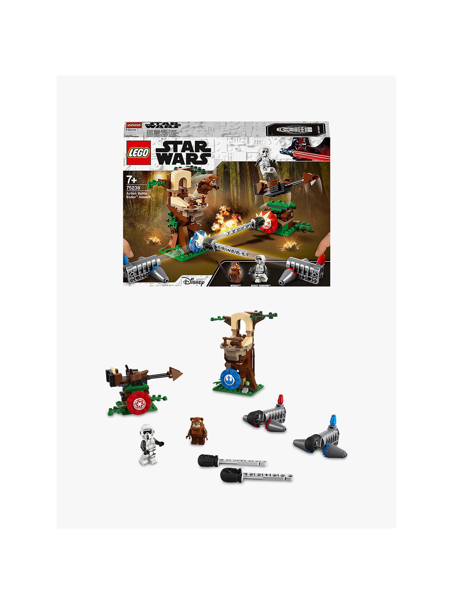 Lego Star Wars 75238 Action Battle Endor Assault At John Lewis