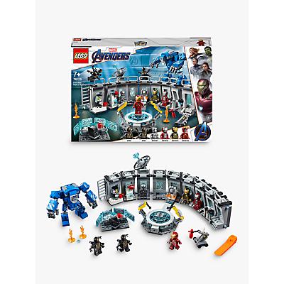 LEGO Marvel Avengers 76125 Iron Man Hall Of Armor Lab