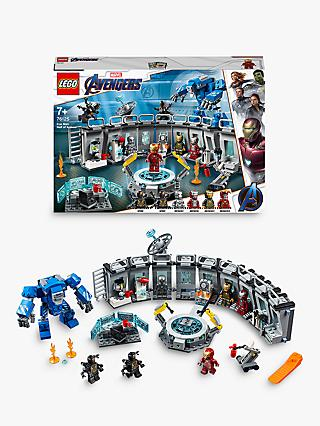LEGO Marvel Avengers 76125 Iron Man Hall of Armor Lab