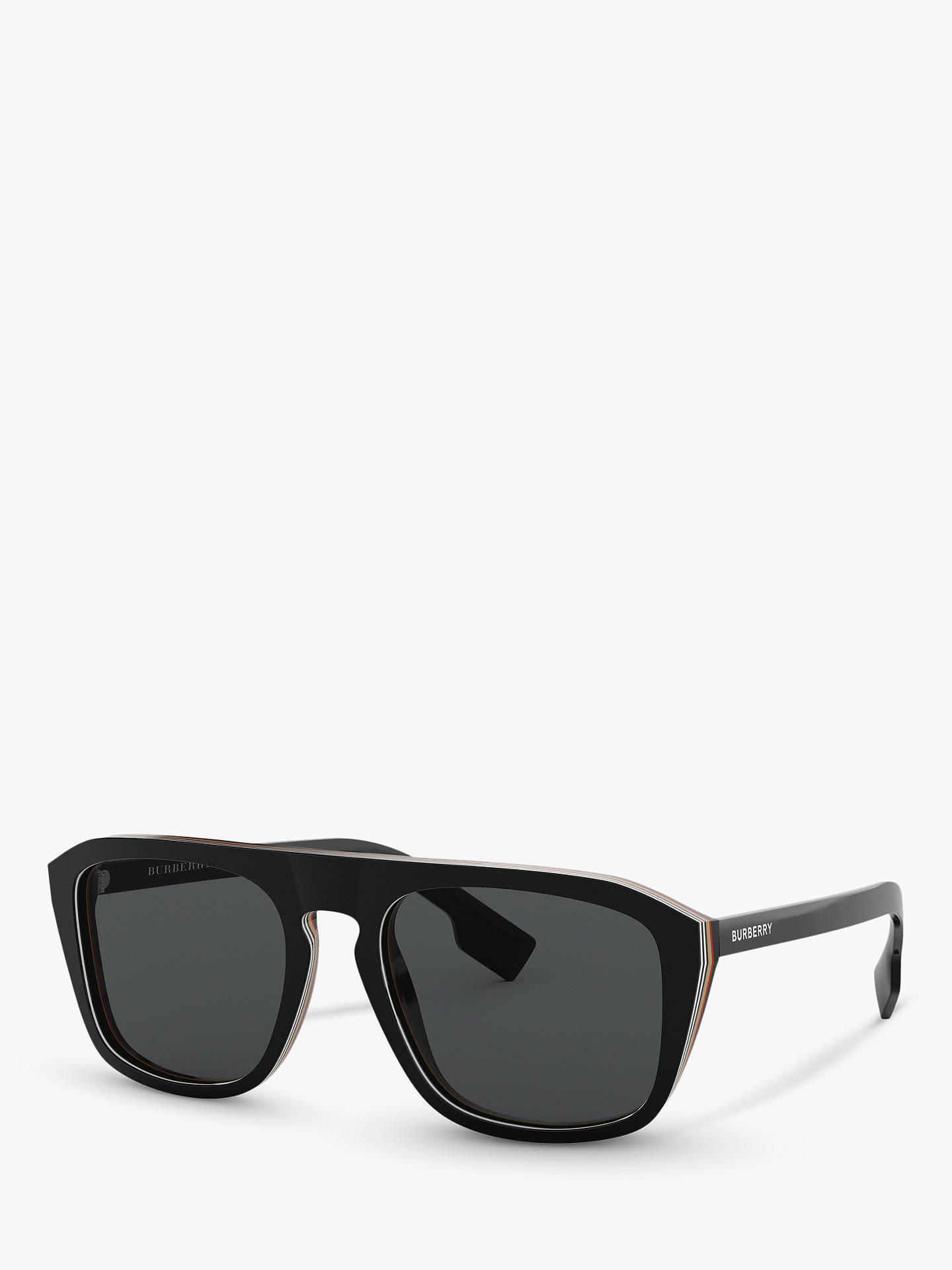 98ea0824822ef Burberry BE4286 Men s Polarised Square Sunglasses