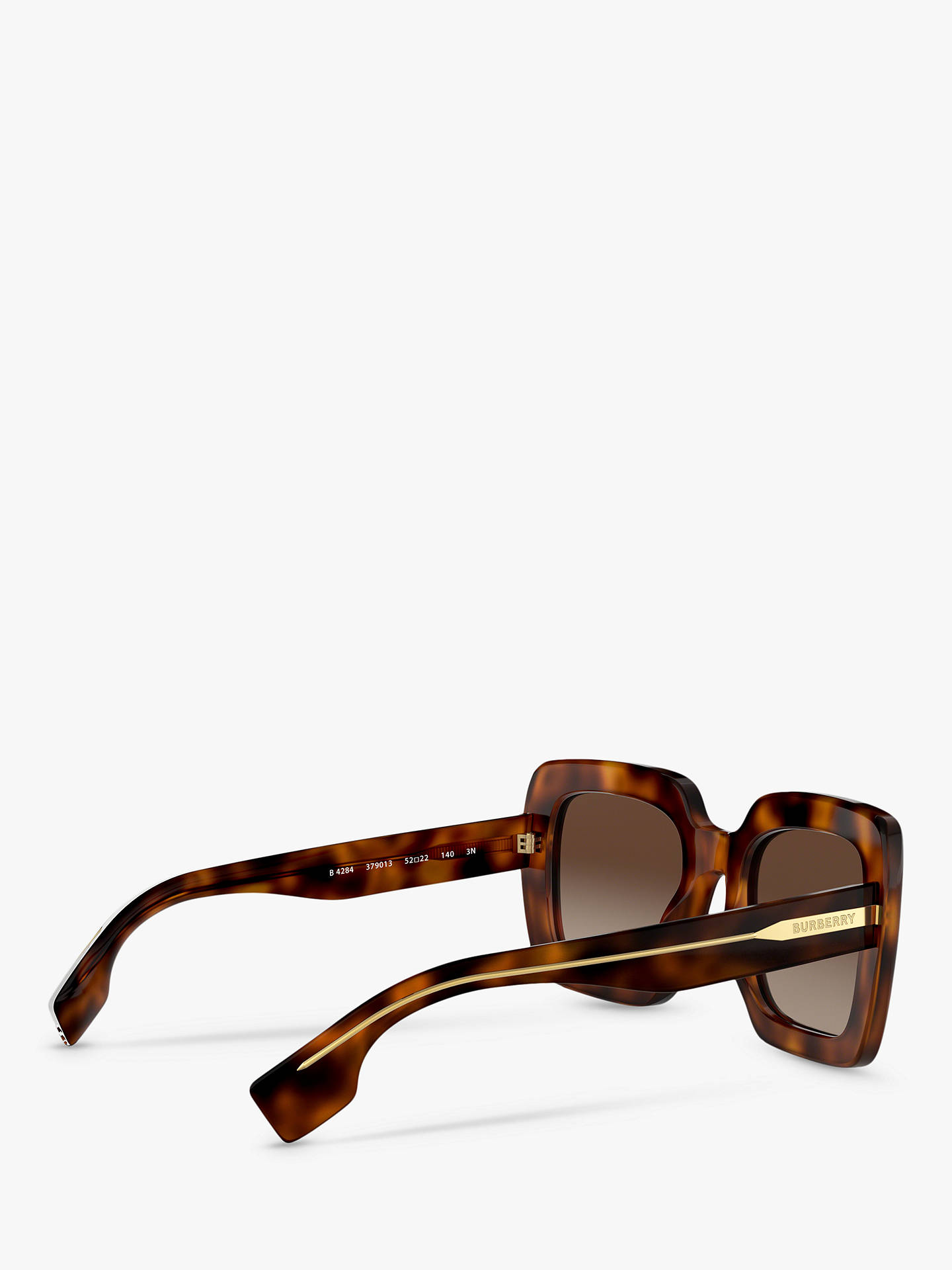 32335acdc51 Buy Burberry BE4284 Women s Chunky Square Sunglasses