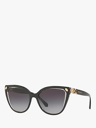 BVLGARI BV8212B Women's Cat's Eye Sunglasses