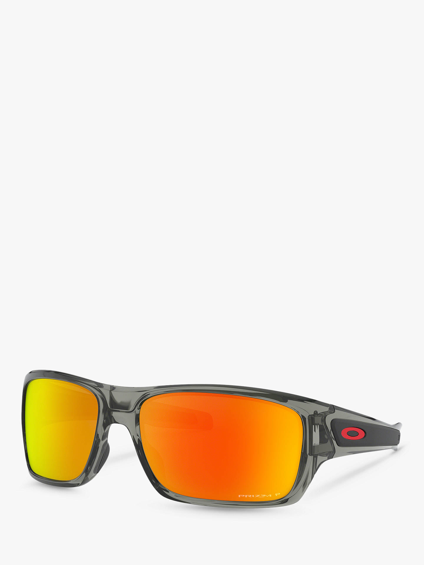 93a7cb456b8 Oakley OO9263 Men s Turbine Prizm Polarised Sunglasses at John Lewis ...