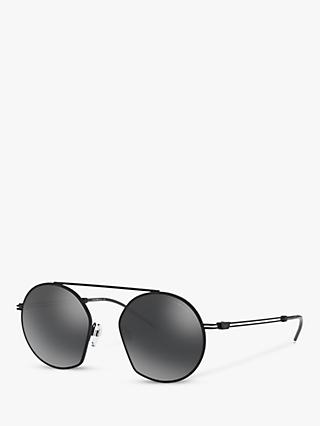 eada38adb1c Emporio Armani EA2078 Men s Asymmetric Round Sunglasses