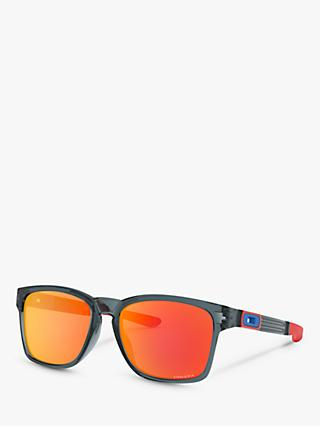 0b8524ec80 Oakley OO9272 Men s Catalyst Prizm Rectangular Sunglasses