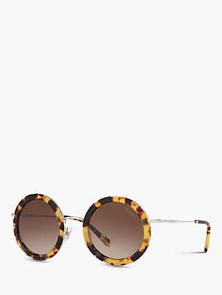 Miu Miu MU 59US Women's Round Sunglasses