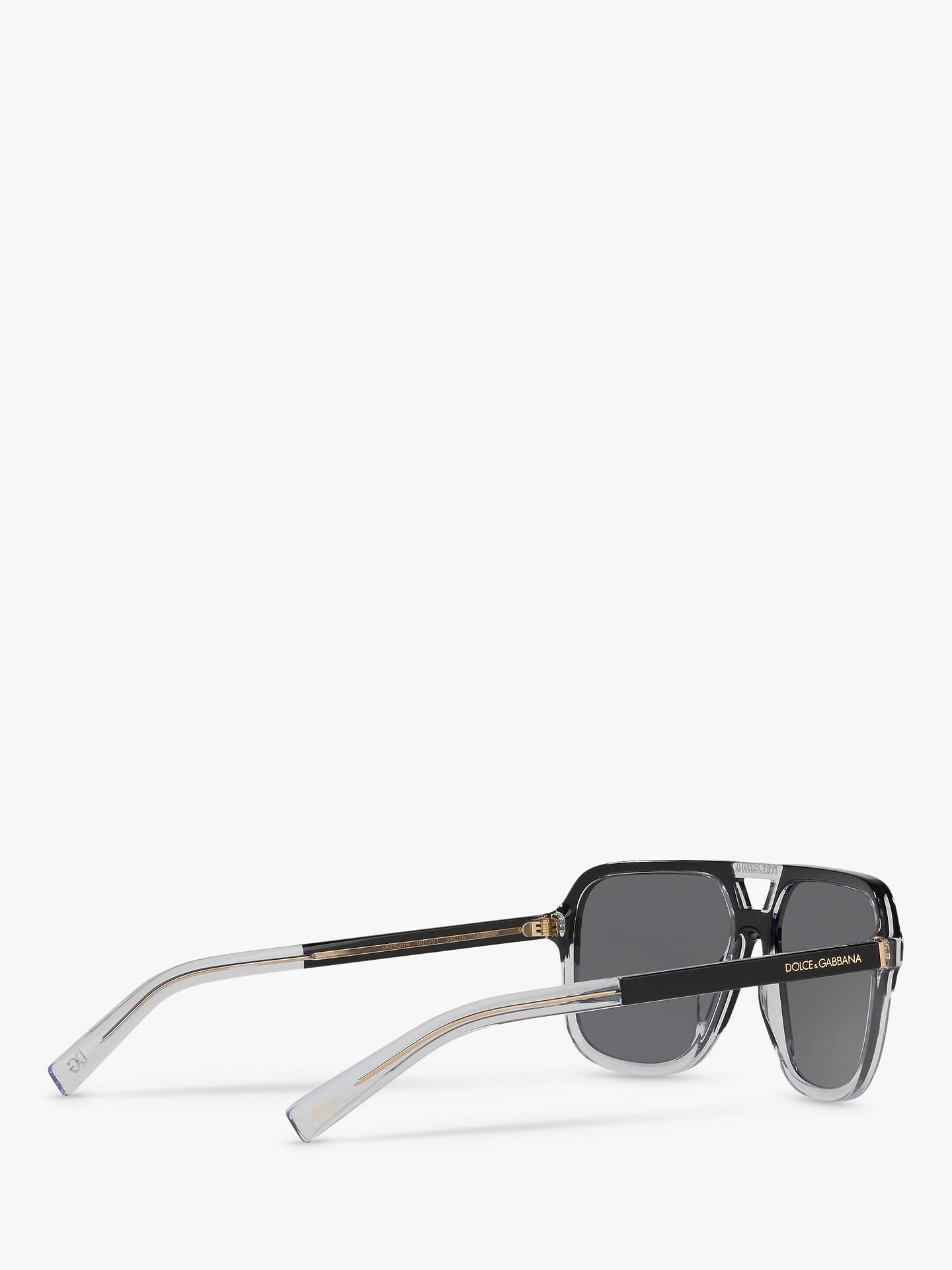 38b77f59610dd ... Buy Dolce   Gabbana DG4354 Men s Polarised Square Sunglasses