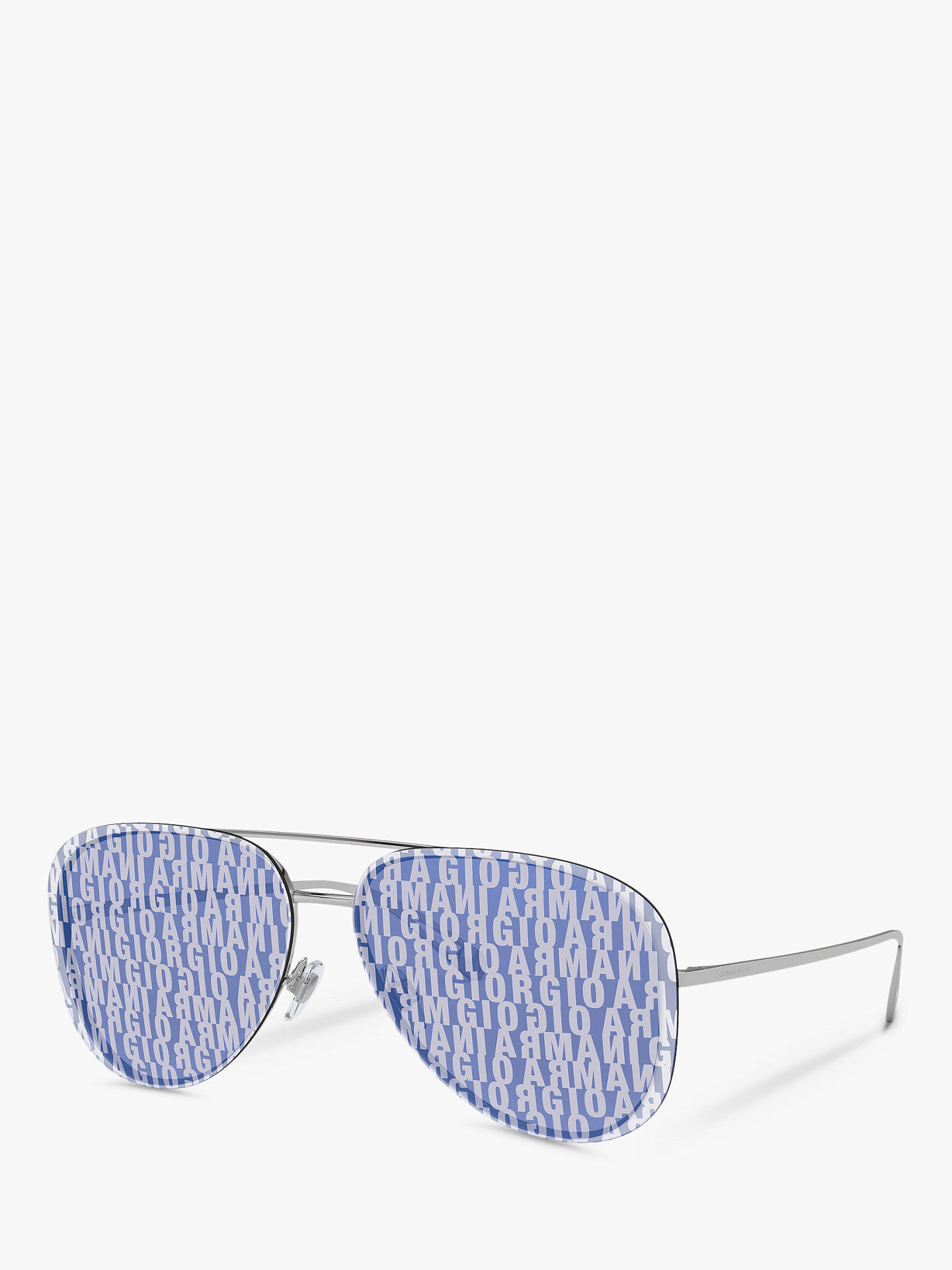 11438d062be5 Buy Giorgio Armani AR6084 Women s Aviator Sunglasses