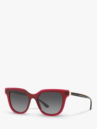 Dolce & Gabbana DG4362 Women's Oval Sunglasses