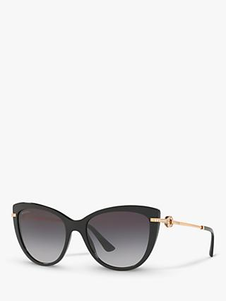 BVLGARI BV8218B Women's Cat's Eye Sunglasses