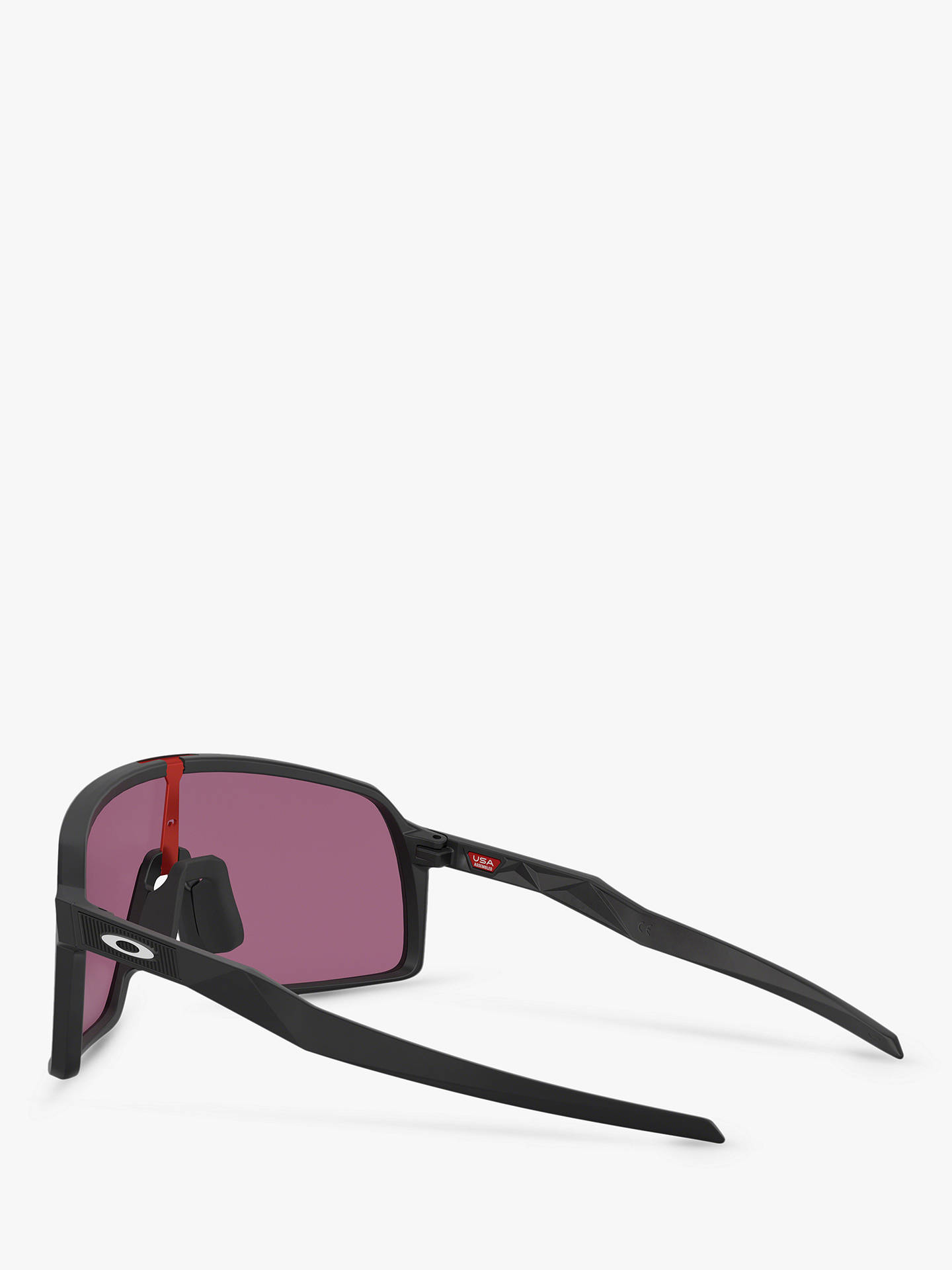 18151f3e079bd Oakley OO9406 Men s Sutro Prizm Rectangular Sunglasses at John Lewis ...