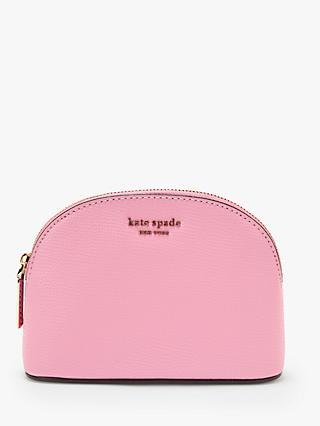 kate spade new york Sylvia Leather Small Dome Makeup Bag 87eab531d0dba