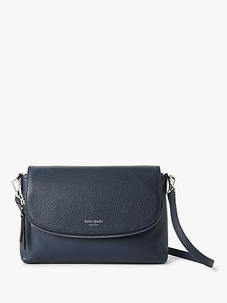kate spade new york Polly Leather Large Flap Over Cross Body Bag
