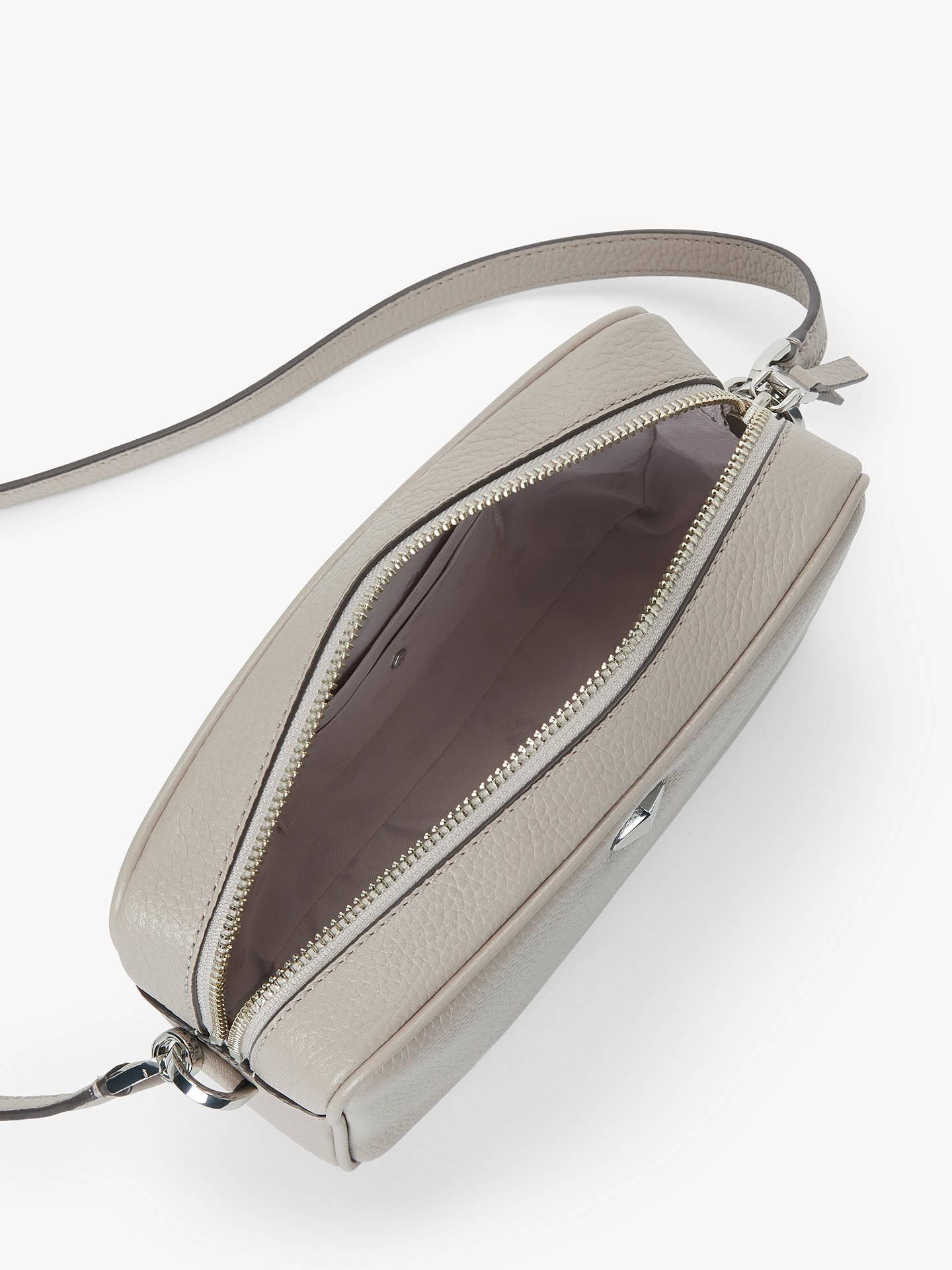 Kate Spade New York Polly Leather Medium Camera Bag Warm Taupe At John Lewis Partners