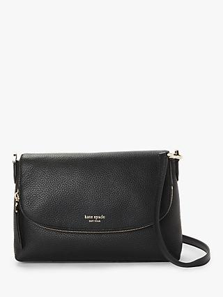 c139ae7fb60f kate spade new york Polly Leather Large Flap Over Cross Body Bag