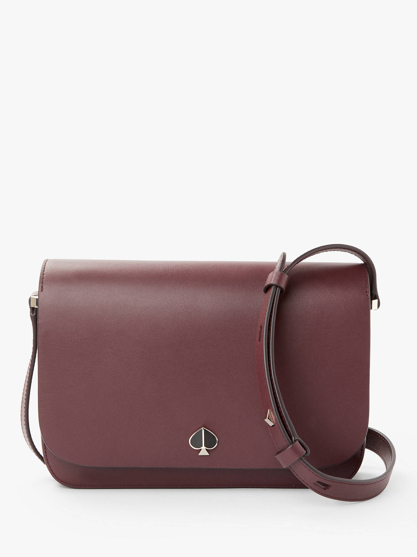 b79b96d833af kate spade new york Nicola Leather Medium Flap Over Shoulder Bag ...