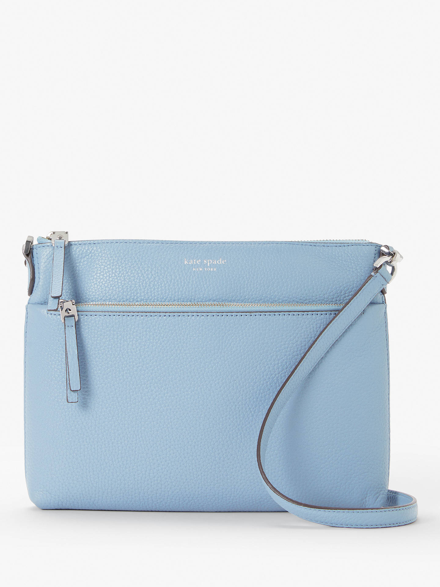 8e041d63b584 kate spade new york Polly Leather Medium Cross Body Bag at John ...