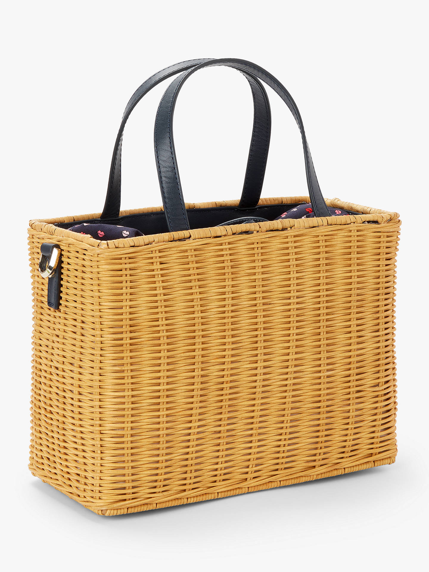 f9cdd50fc6bf ... Buy kate spade new york Sam Medium Wicker Basket Bag