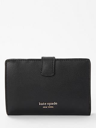 141cd9051e108 kate spade new york Sylvia Medium Coated Leather Bi-Fold Wallet