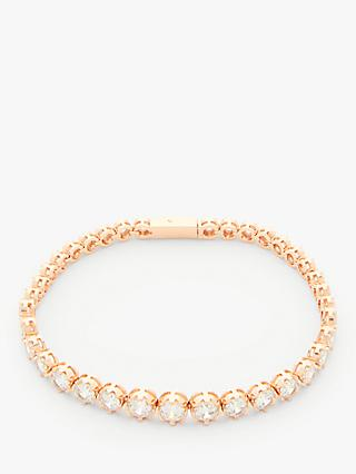Ivory & Co. Limelight Crystal Tennis Bracelet, Rose Gold