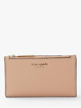 854cac9ba013 kate spade new york Coated Leather Small Bi-Fold Purse