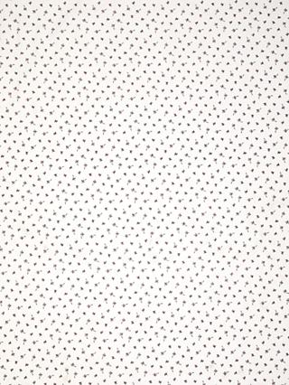 Oddies Textiles Mini Butterflies Print Fabric, White