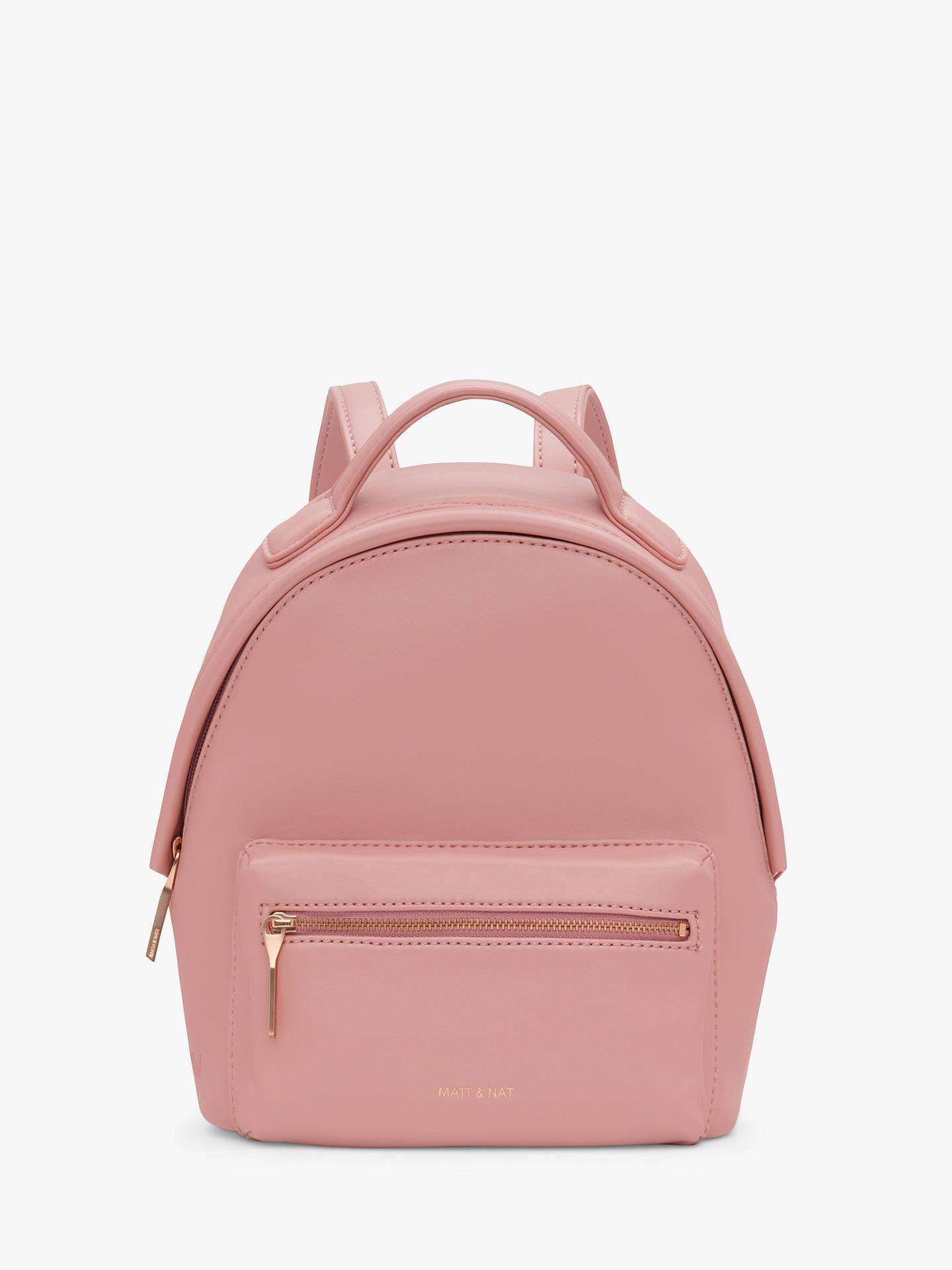 372d13b9907 Buy Matt & Nat Loom Collection Bali Vegan Mini Backpack, Lily Online at  johnlewis.