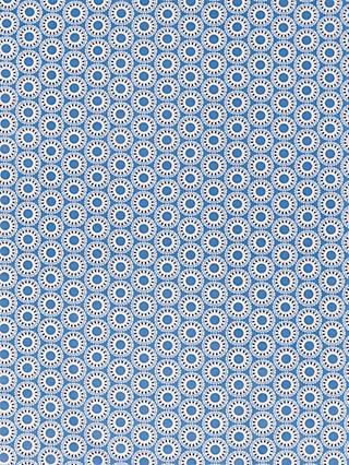 b4daec14c1885 Domotex Geometric Circle Print Fabric