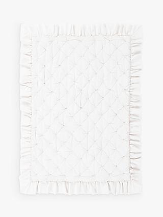 Pottery Barn Kids Sadie Ruffle Toddler Bed Quilt