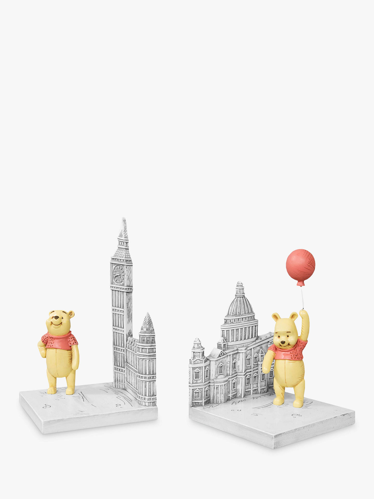 new product 7366a 7c885 John Lewis & Partners Christopher Robins Winnie the Pooh Bookends