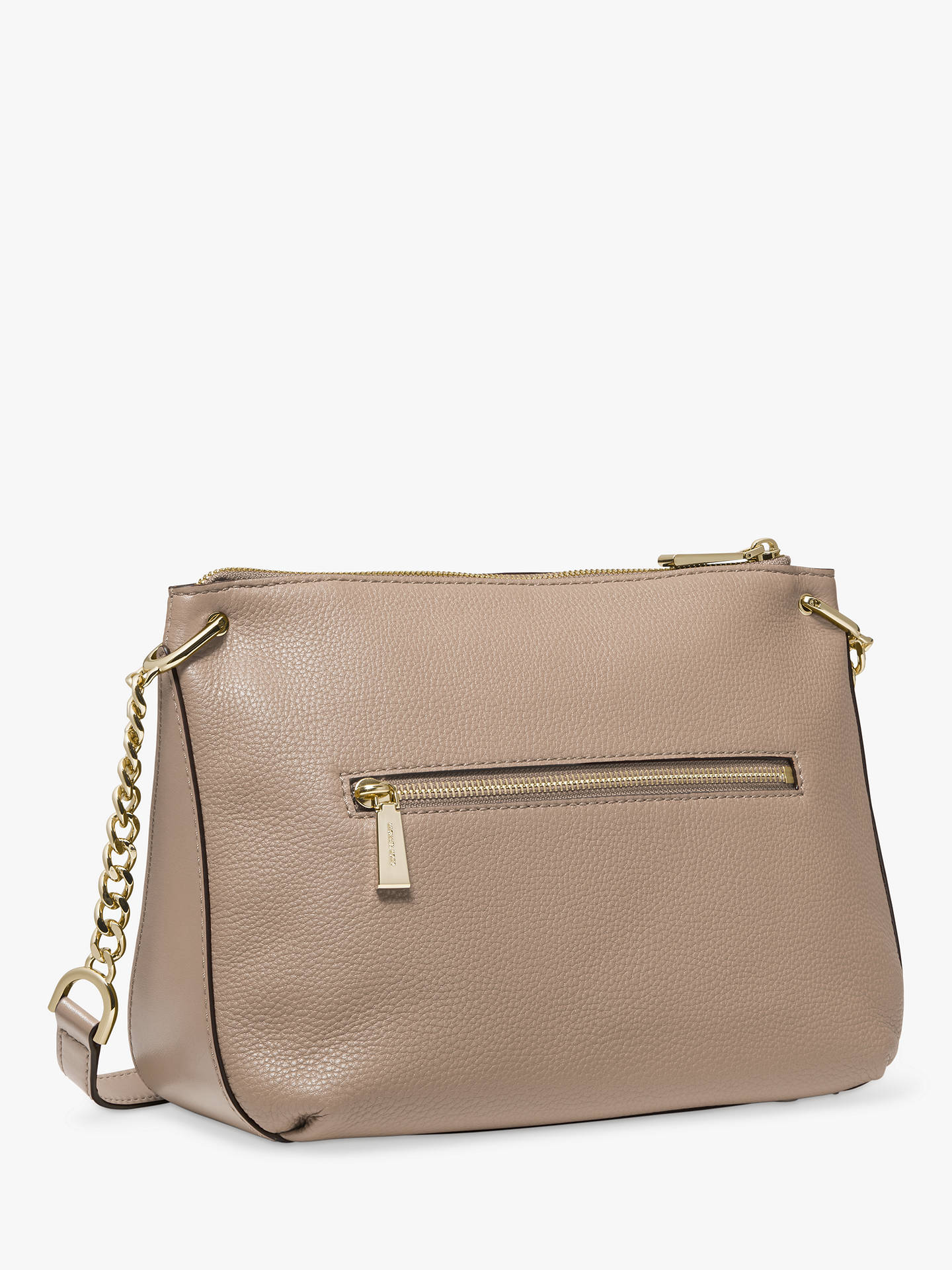 7fded4adedf5 MICHAEL Michael Kors Lillie Large Leather Messenger Bag at John ...