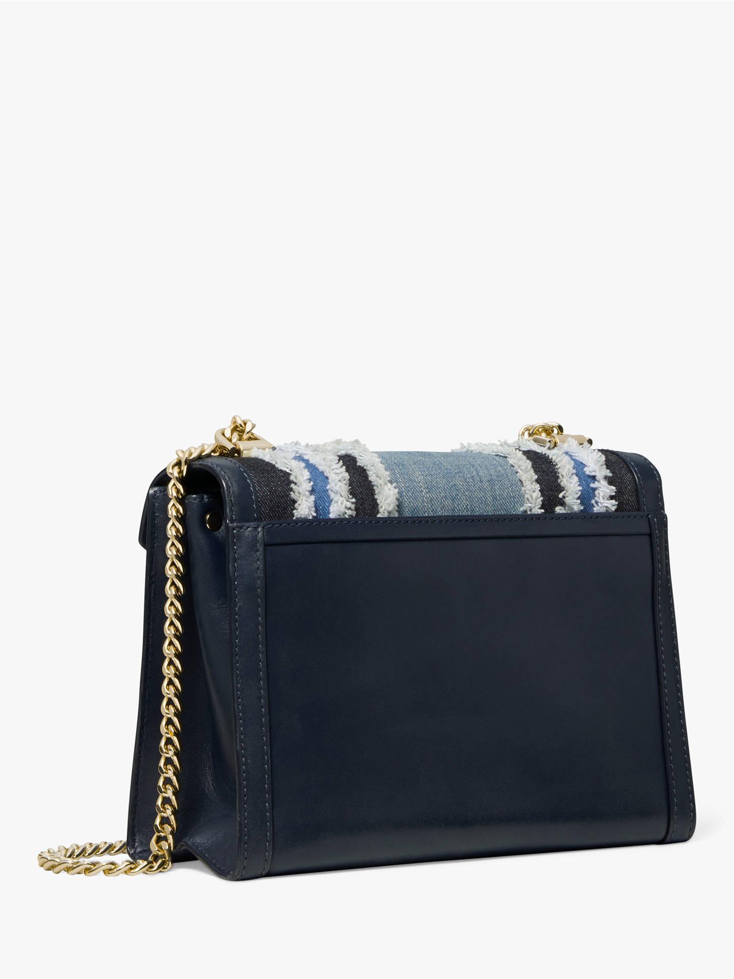 2b02f2bcf66187 ... Buy MICHAEL Michael Kors Whitney Large Chain Strap Shoulder Bag, Denim  Multi Texture Online at ...