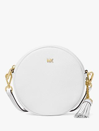 MICHAEL Michael Kors Canteen Leather Cross Body Bag