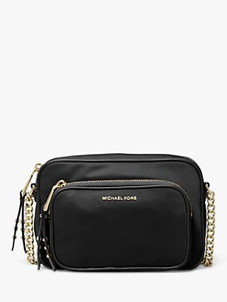342580e8becf7f MICHAEL Michael Kors Leila Large Camera Bag, Black