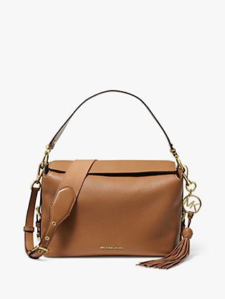 ea45e99e15e3 MICHAEL Michael Kors Brooke Leather Medium Satchel