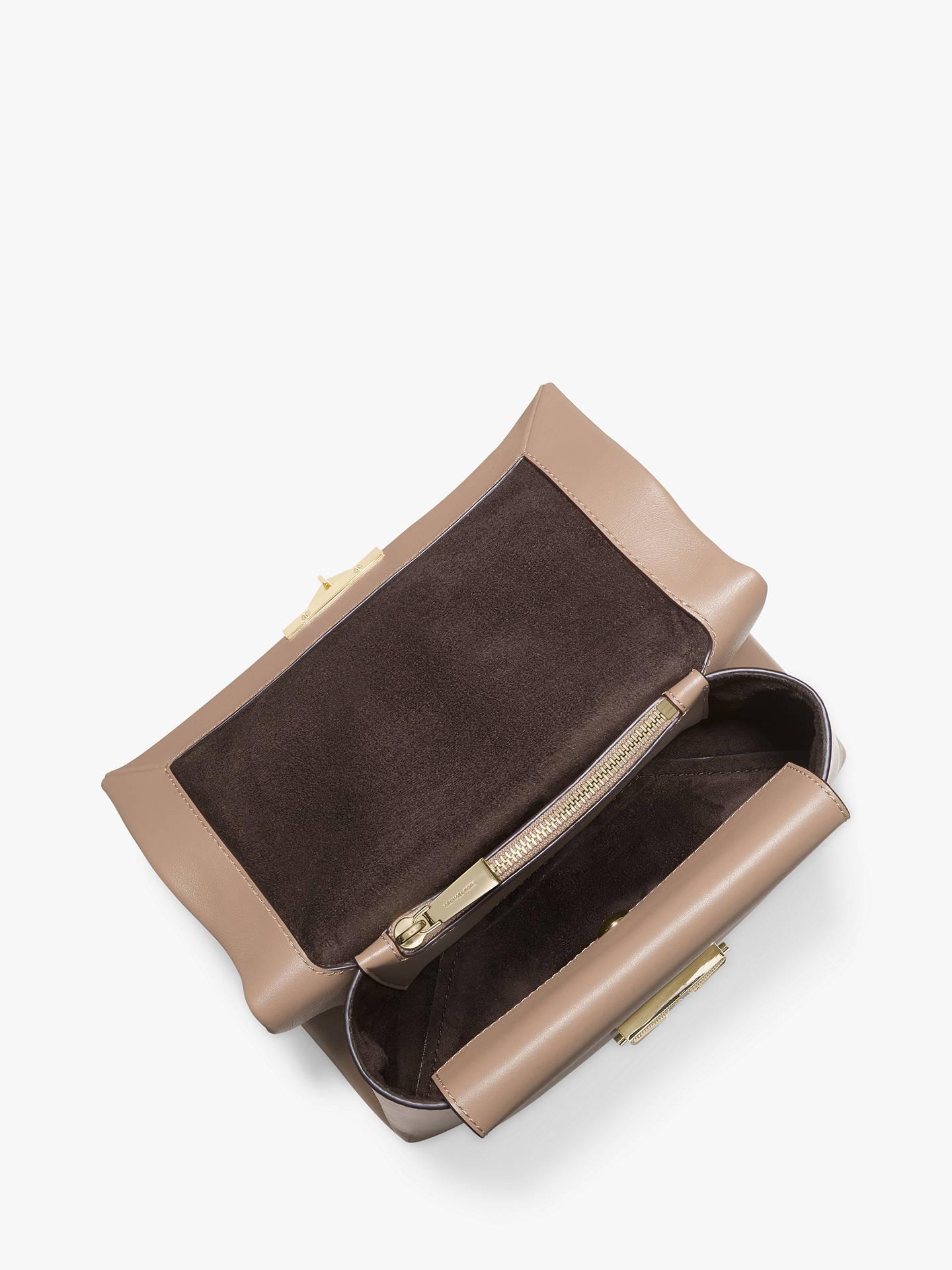 4d937a37500f ... Buy MICHAEL Michael Kors Cece Medium Chain Shoulder Bag, Truffle Online  at johnlewis.com ...